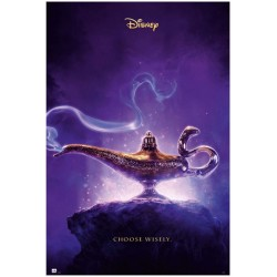 Póster Aladdin Choose Wisely