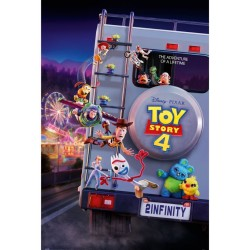 Póster Toy Story 4 To Infinity