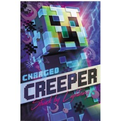 Póster Minecraft Charged Creeper