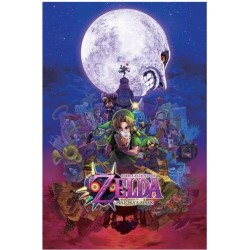 Póster The Legend of Zelda Majora's Mask