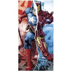 Toalla Iron Man y Capitán América