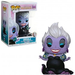 POP! Disney: La Sirenita - Ursula con Anguilas (Purple Dress)