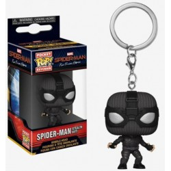 POP! Llavero Spider-Man Far From Home - Spider-Man (Stealth Suit)
