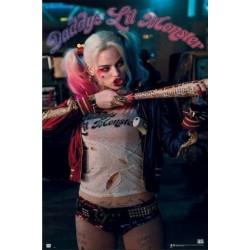 Póster Harley Quinn Escuadron Suicida