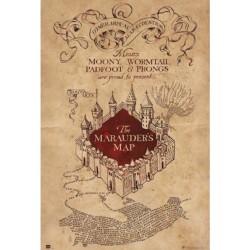 Póster Harry Potter: Mapa del Merodeador