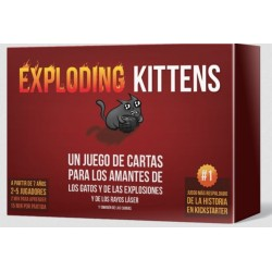 Juego - Exploding Kittens