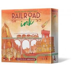 Juego - Railroad Ink: Edición rojo abrasador