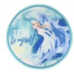 Toalla Redonda de Frozen: Elsa True to my Self