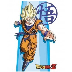 Póster Dragon Ball Z SS Goku