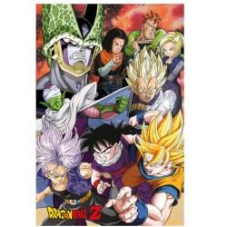 Póster Dragon Ball Z Saga Celula