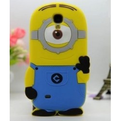 Funda 3D Samsung Galaxy S4 Mini de Minion