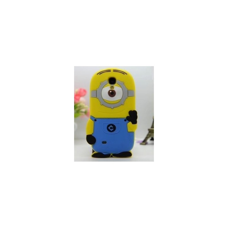 Funda 3D Samsung Galaxy S4 Mini de Minion