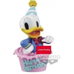 Figura Q Posket Disney: Pato Donald Happy Birthday