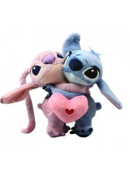 Peluche Stitch y Angel