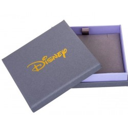 Colgante de Disney Casa de Up Chapado en Oro Blanco